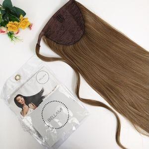 "NWT Bellami Hair Wrap Style Ponytail 24""Ash Brown"